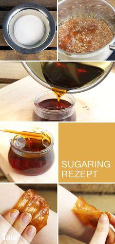 Anleitung und Rezept - Sugaring - Zuckerpaste für Haarentfernung - Talu.de