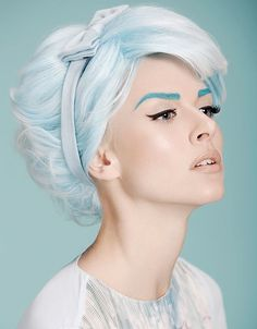 2014 Most Popular Retro-Chic style inspired by the 1960s on our Facebook page. Hair: Georgi Petkov; Photog: Diliana Florentin of Bulgaria. None of us could get enough of this photo! #hotonbeauty #thewaywewere www.fb.com/hotbeautymagazine