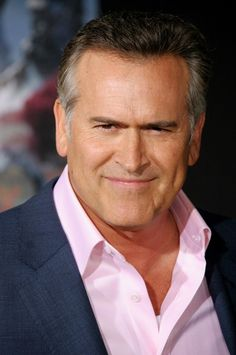 Bruce Campbell (June 22, 1958) American actor, o.a. known from 'Strong medicine'.