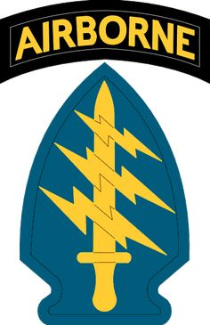 US Army Special Forces SSI - United States Army Special Operations Command