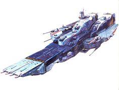 Macross, SDF-1, by takani yoshiyuki