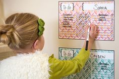 Never have to remind your children what to do again! Okay, that might be wishful thinking, but this dry erase Chore Chart will help you get there! Together, you and your kids can plan daily and weekly tasks, organize schedules and help establish good habits that will last a lifetime! Pick your favorite color for 50% off at pickyourplum.com