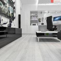 Salas de estar minimalistas por RogovStudio