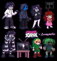 Spooky Scary, Creepy Art, Body Drawing Tutorial, Creepypasta Cute, Creepy Pasta Family, Laughing Jack, Harry Potter Anime, Fandom Crossover, Jeff The Killer