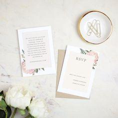 Printable Wedding Invitation Template  Vintage by SwellAndGrand