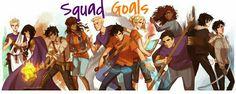 Squad Goals Level: Impossible