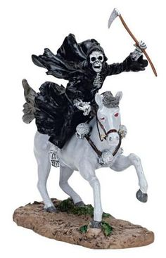 Lemax Spooky Town Death on a Pale Horse Figurine