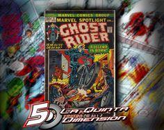 MARVEL SPOTLIGHT # 5 1A. Aparición de Ghost Rider. $ 2000.00 Para más información, contáctanos en http://www.facebook.com/la5aDimension