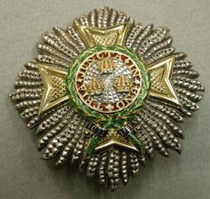 Order of the Bath. Small military Grand Cross star. Belonged to Edward VII when Prince of Wales, by R. & S. Garrard & Co., 1860 – 1900, 67 x 69mm.