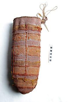 Twine basket from Yirrkala, Arnhem, Northern Territory, Australia