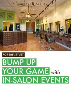 Stylist tips. http://www.loxabeauty.com/thelayer/bump-game-salon-events/