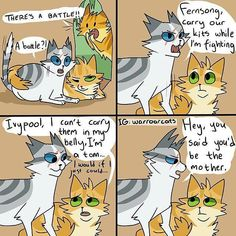 Find the awesome warrior cat memes funny - hilarious pets pictures Warrior Cats Comics, Warrior Cats Funny, Warrior Cat Memes, Warrior Cats Fan Art, Warrior Cats Series, Warrior Cats Books, Warrior Cat Drawings, Cat Comics, Cat Jokes