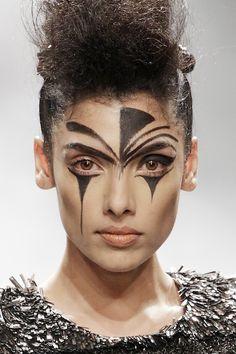 tribal makeup men - Google Search