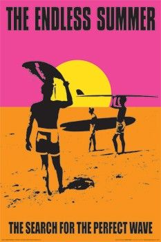 The Endless Summer Poster 24x36 inch
