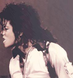 MICHAEL JACKSON ★ ☆ ★ BAD TOUR ★ ☆ ★.#duck lips #curls #Bad Tour