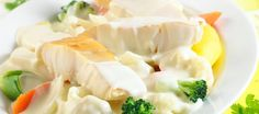 Røkt torsk - poteter - gulrot/brokkoli - fiskesaus