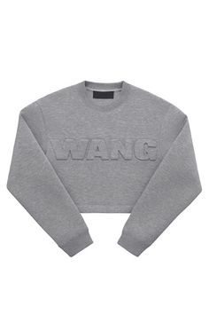 The ENTIRE Alexander Wang For H&M Collection — Right Here! #refinery29  http://www.refinery29.com/2014/10/76326/alexander-wang-hm-entire-collection-pictures#slide1  Alexander Wang for H&M Sweatshirt, $59.95, available on November 6 at H&M.