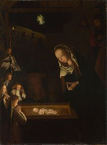 Geertgen tot Sint Jans - Geertgen depicted the Child Jesus as a light source on his painting Nativity at Night.