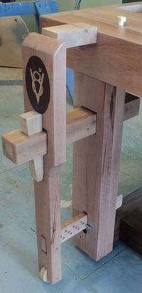 Vises of Your Dreams - by Airframer @ LumberJocks.com ~ woodworking community #woodworkingbench