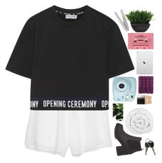"""""""Babygirl"""" by lolalevjesrcna ❤ liked on Polyvore featuring Prabal Gurung, Opening Ceremony, CASSETTE, Fujifilm, Christy, Lux-Art Silks, Butter London, The Fine Bedding Company and nicolewantstoseethis"""