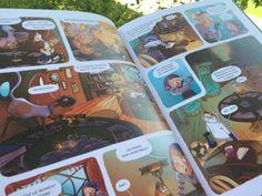 Enola et les animaux extraordinaires  http://lesptitsmotsdits.com/initier-enfant-bandes-dessinees-4-suggestions/