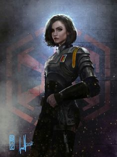 Laralyn Senna commission by DavidSondered - Star Wars Canvas - Latest and trending Star Wars Canvas. Star Wars Fan Art, Rpg Star Wars, Star Wars Concept Art, Star Wars Rebels, Star Wars Characters Pictures, Sci Fi Characters, Cyberpunk, Star Citizen, Character Portraits