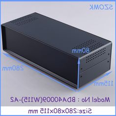 31.00$  Buy here - https://alitems.com/g/1e8d114494b01f4c715516525dc3e8/?i=5&ulp=https%3A%2F%2Fwww.aliexpress.com%2Fitem%2F1-pc-80x280x115-mm-electric-box-iron-enclosure-metal-box-enclosure-for-electronics-pcb-switch%2F1975119281.html - (1 pc)80x280x115 mm electric box  iron enclosure  metal box enclosure for electronics pcb switch metal iron steel   box