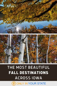 Discover the most beautiful places to visit in Iowa each fall. You'll find Pikes Peak State Park, Lake McBride, Effigy Mounds National Monument, and more on this list of local things to do in autumn. Every destination makes for a perfect family day trip in nature. Beautiful Places To Visit, Places To See, Most Beautiful, Effigy Mounds, Egypt Museum, Autumn Scenery, State Forest, Pikes Peak, Day Trips