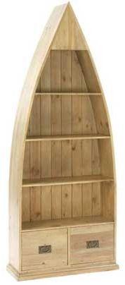 Traditional 4 Shelf 2 Drawer Bookcase - Pine. on shopstyle.co.uk