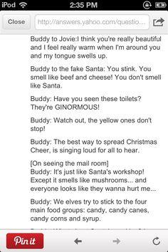 Elf quotes lol Toilet Quotes, Elf Quotes, Toilets, Hilarious, Lol, Feelings, Memes, Disney, Party