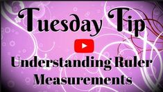 How to read a ruler? Something we all need to learn. If you want to know 'what are the measurements on a ruler?' This tutorial is for you + there's a free download. Check it out ~ www.SimplySimpleStamping.com #howtoreadruler #rulermeasurements #rulermeasurementschart #ruler #rulerprintable #craftsupplies #essentialcraftsupplies #conniestewart #simplysimplestamping Card Making Tips, Card Making Supplies, Card Making Tutorials, Card Making Techniques, Making Cards, Video Tutorials, Painting Techniques, Reading A Ruler, Easy Paper Flowers