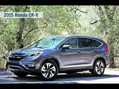 2015 Honda CR-V Touring Start Up and Review - Car & Passion - YouTube