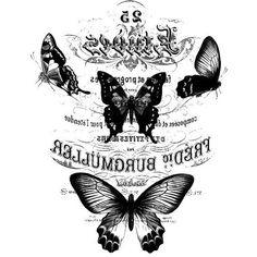 изображения черно-белые..декупаж стула..бабочки..стрекоза..пчела. Обсуждение на LiveInternet - Российский Сервис Онлайн-Дневников