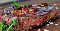 Tuesday is steak evening at the Woodman Inn. You can't beat sitting down enjoying a delicious steak. Buy one and the second is half price    Steak Marinade Best, Marinade Sauce, Best Steak, Good Steak Recipes, Beef Recipes, Cooking Recipes, Healthy Recipes, Cuisine Diverse, French Dishes