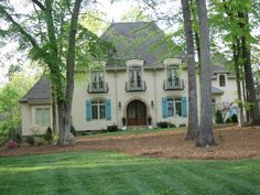 French Country Architecture Exterior | French Country Home - Home Exterior Designs - Decorating Ideas - HGTV ...