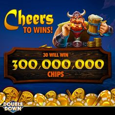 Free Chips Doubledown Casino, Double Down, Get Started, Cheers, Beverage, Link, Hot, Drink, Liquor