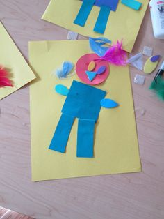 """""""It's OK to be Different"""" activity to accompany the book by Todd Parr."""