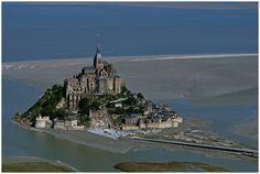 Mont-Saint-Michel von Süd - Westen de Reinhard S