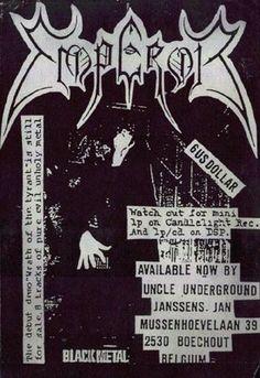 Band flyers (Norwegian Black Metal)- Emperor