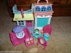 Fisher Price Sweet Streets Dance Ballerina Studio Candy Store