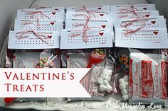 """""""You Warm My Heart"""" Valentine {with free printable} from 11 Magnolia Lane."""