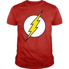 The flash logo T Shirts, Hoodies. Get it now ==► https://www.sunfrog.com/Geek-Tech/The-flash-logo.html?57074 $26