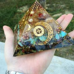 Orgonite . Customized. Joy , peace , wealth and love .