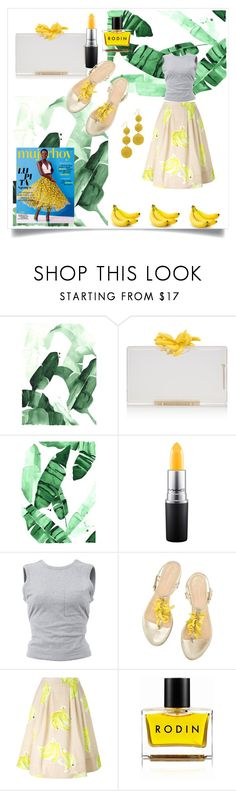 """""""Happy Banana!"""" by kokooo7 on Polyvore featuring Charlotte Olympia, MAC Cosmetics, T By Alexander Wang, MSGM, Rodin Olio Lusso, Kenneth Jay Lane, summerstyle and Spring2017"""