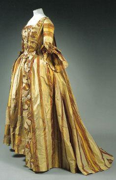 Robe à la française, 1770's-80's