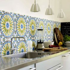 another moroccan tiles... lovely!