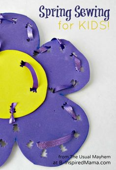 Simple Kids Sewing for Spring at B-InspiredMama.com
