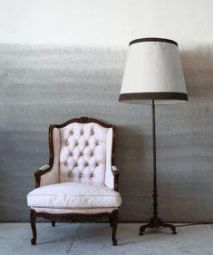 Blue Ombre Rorschach Wall effect  4 Ideas of Ombre Effect in Interior Design | InteriorHolic.com