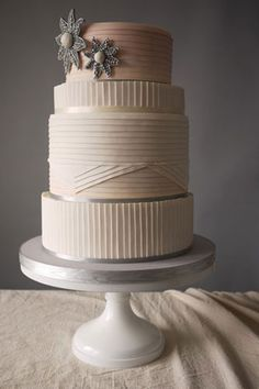 I put this in bridal fashion because it totally reminds me of a hatbox. :) Totally blows away my DIY wedding cake, which I also loved. Photo: Courtesy of Charm City Cakes