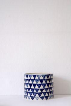 Cylinder med trianglar